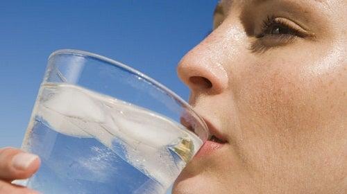 Koud Water Drinken