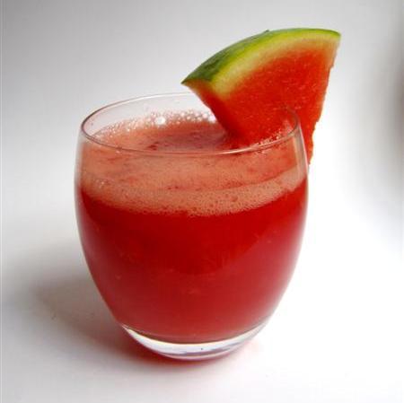 Sap van Watermeloen en Grapefruit