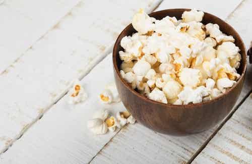 Popcorn, is het gezond?