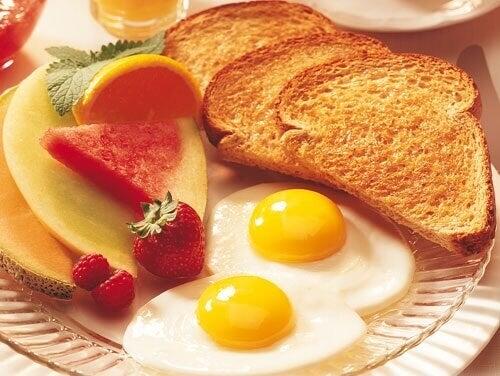 Eet een goed Ontbijt