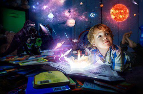 Jongen met Fantasie