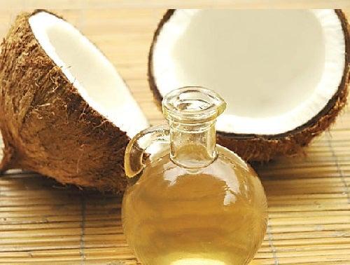 Kokosolie voor schone tanden
