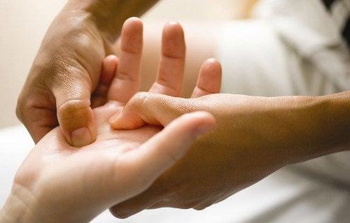 Massage van de Hand