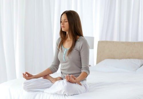 Mediteren om te ontspannen