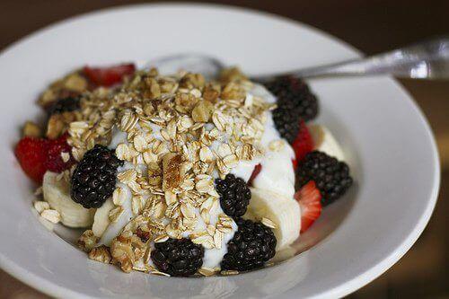 Ontbijt met Haver en Fruit