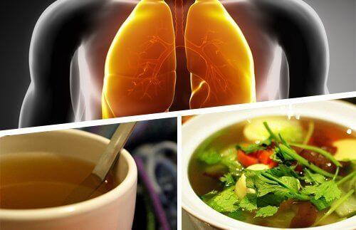 Je longen ontgiften met bepaalde voedingsmiddelen
