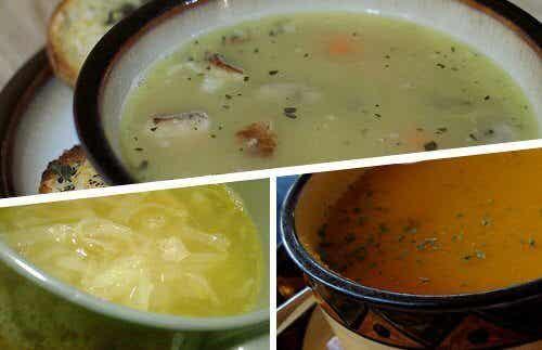 4 soorten soep tegen verkoudheid