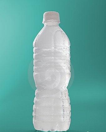 Fles water