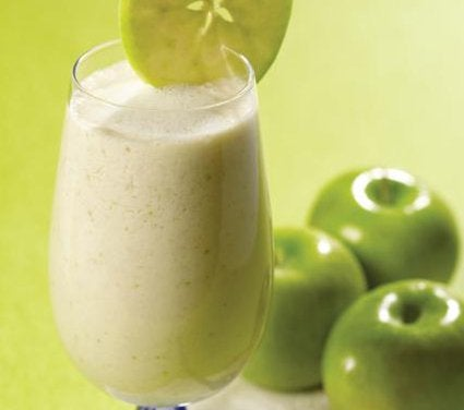 Appel-havermoutsmoothie