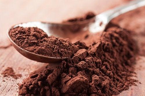 Cacaopoeder voor mooie ogen