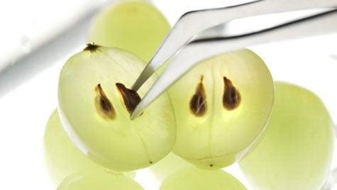 Druivenpitten voor mooie ogen