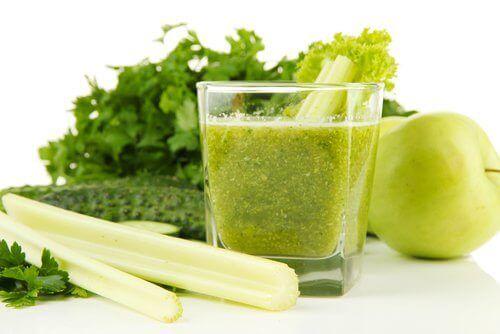 Sap van selderij tegen urinezuur