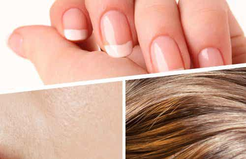 Smoothies voor sterkere haren, huid en nagels