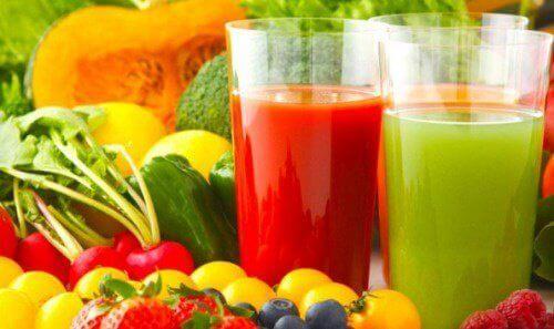 Je hele lichaam ontgiften met gezonde voeding