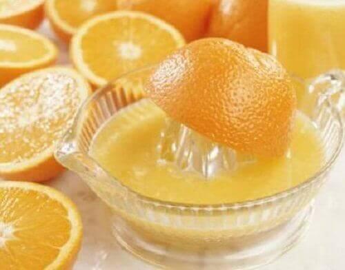 Geperste Sinaasappelen