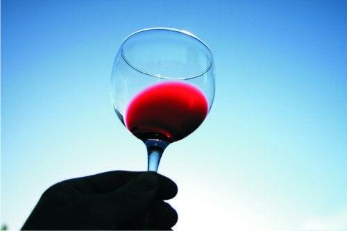 Rode wijn is goed voor je hart