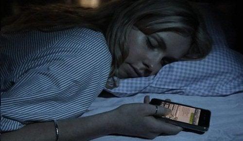 Slapen met Telefoon