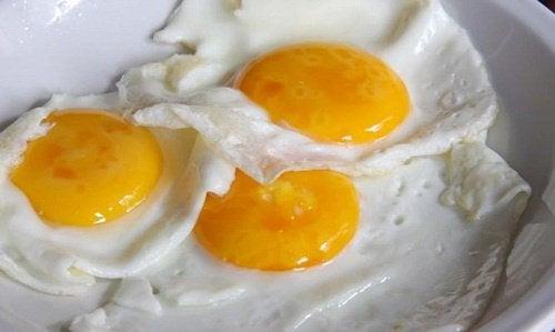 Gebakken eieren