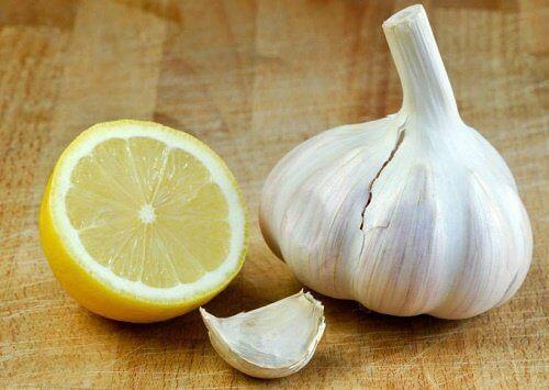 Knoflook en citroen