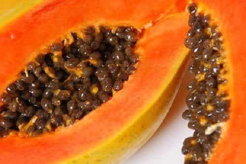 Fruit dat je gezicht verjongt