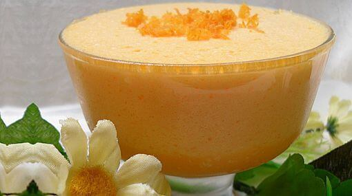 Dessert met Sinaasappel