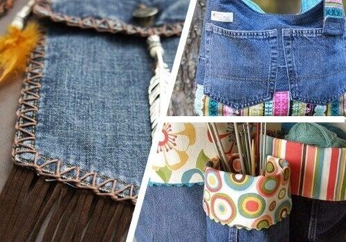 9 manieren om je oude jeans te hergebruiken