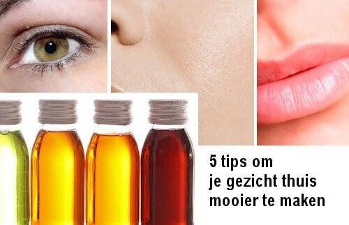5 trucjes om je gezicht thuis mooier te maken
