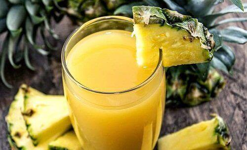 Ontgiftingskuur met ananas