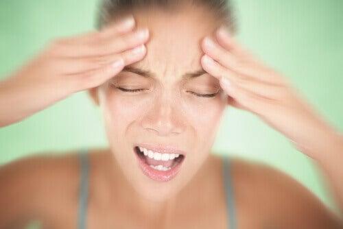 Symptomen van een migraineaanval
