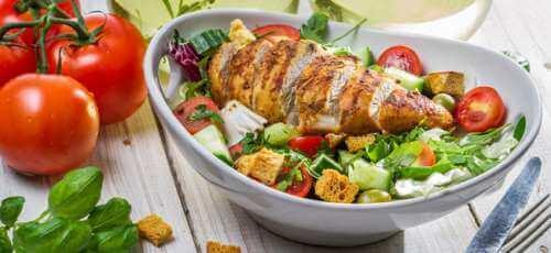 Middageten bij een alkalisch dieet