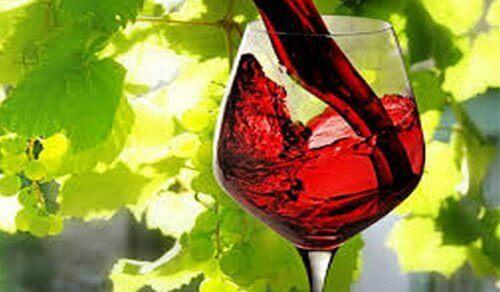 Een glas rode wijn is gelijk aan een stevige work-out
