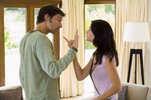 Ruzie binnen een relatie