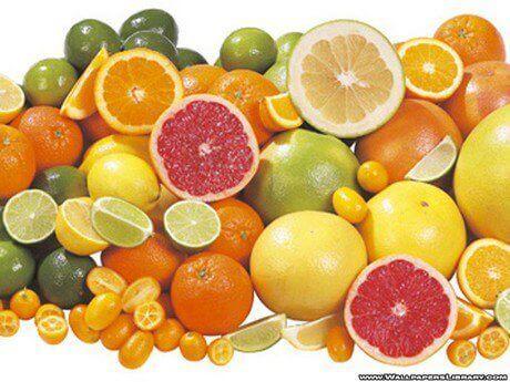 Citrusvruchten om teken af te weren