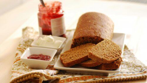 Brood eten om af te vallen