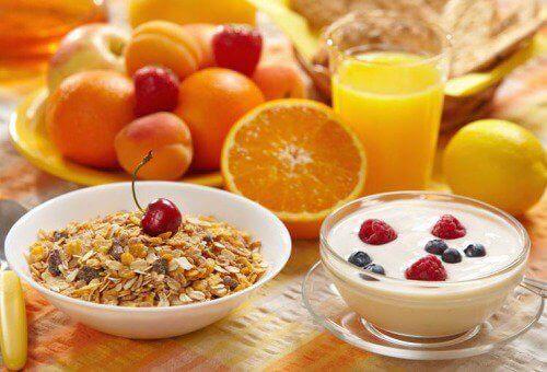 Gezonde voeding tegen tintelingen in je armen