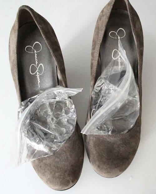 IJs in je schoenen tegen pijn in de voeten