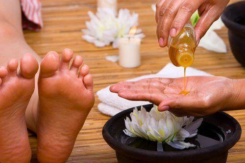 Voetmassage tegen pijn in de voeten