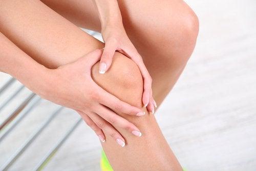 Pijn in gewricht van de knie