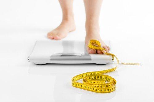 Gewichtsproblemen door de schildklier
