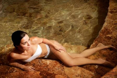 Vrouw in Water