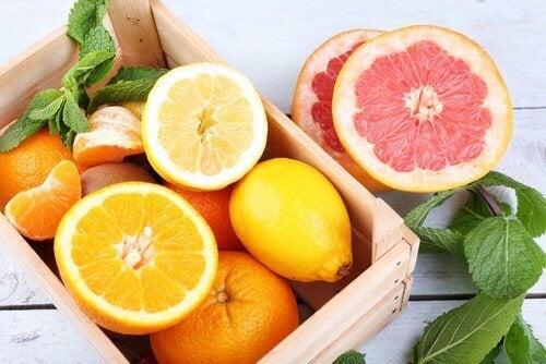 Citrusvruchten tegen opkomende depressie