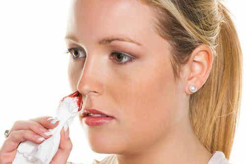 Natuurlijke middelen tegen neusbloedingen