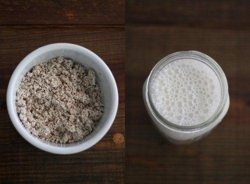 Plantaardige melk tegen pijn tijdens de menstruatie