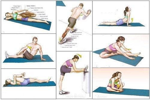 De 9 beste rekoefeningen om in vorm te blijven
