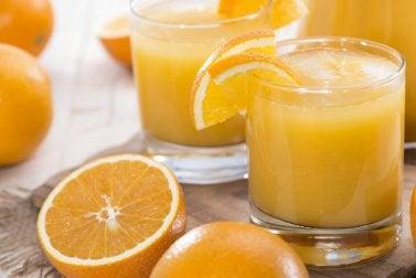 glaasje sinaasappelsap