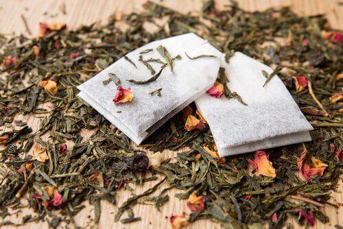 Theezakjes en losse thee