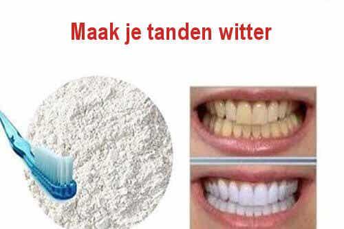 Schone tanden met 100% natuurlijke producten