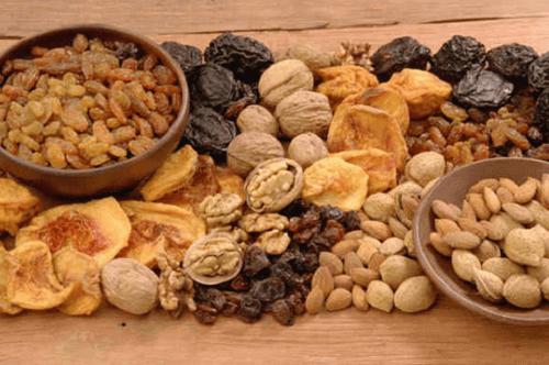 Noten en gedroogde vruchten