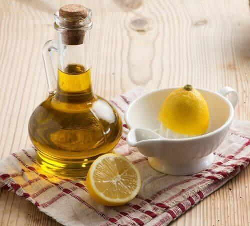 Olijfolie en Citroensap