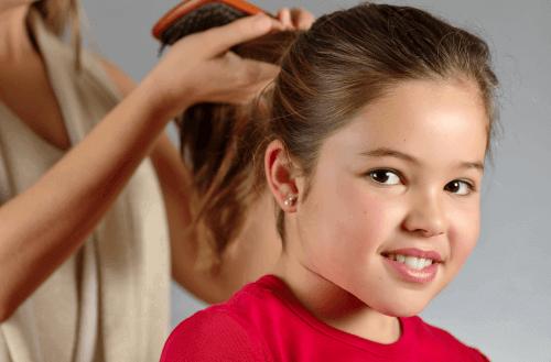 Haarverzorging Meisje